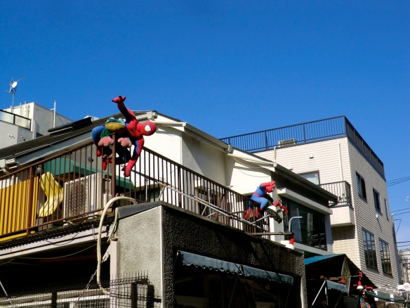 Spidey senses — in the streets of Harajuku