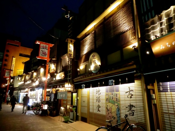 Calm of night — Asakusa